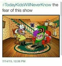 Today's kids will never know the fear of this show