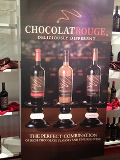 Chocolate Rouge Wines at the NY Chocolate Show 2012 in NYC