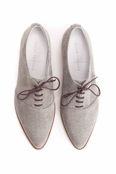 Shoes+Flat+Shoes+Leather+Shoes+Lace-Up+Shoes+by+OliveThomasShoes