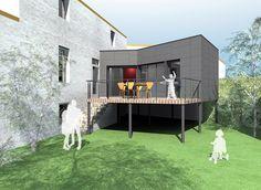 extension pilotis | Architecture | Pinterest | Strasbourg ...