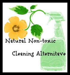 Natural Non-toxic Cleaning Solution #cleaning #naturalcleaning #non-toxicleaning #essentialoils
