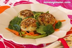 Hamburguesas de mijo - receta vegana