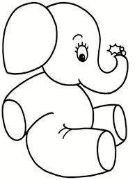 Baby Elephant Love Her Mother Coloring Page   Tattoos   Pinterest ...