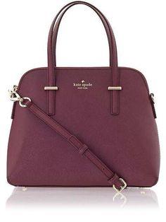 ab84533bd1 Kate Spade Purse Burgundy Handbags