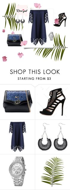 """""""Rosegal"""" by mersy-123 ❤ liked on Polyvore featuring Pier 1 Imports"""