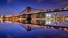 Photograph Reflection - Manhattan Bridge by Krzysiek Rabiej on 500px