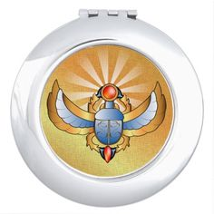 Beautiful scarab vanity mirrors