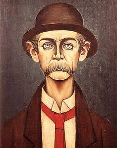"""Visited a Lowry exhibition at the weekend and have a new respect and admiration for his beautiful paintings. This portrait is called """"The Manchester Man"""". Paintings I Love, Beautiful Paintings, Art Eras, English Artists, Naive Art, Portraits, Heart Art, Illustration Art, Drawings"""