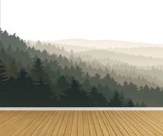 Mountain Tree Wall Decal Forest Wall Decal Wall Sticker Nursery Wall This listing comes with Mountains/Tree Mural. The mountains/trees are one mural that comes in panel Kitchen Wall Decals, Nursery Wall Stickers, Wall Decor Stickers, Wall Mural Decals, Kitchen Stickers, Kitchen Decor, Forest Mural, Forest Decor, Mountain Mural