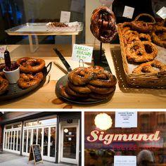 Sigmund's Pretzels, NYC
