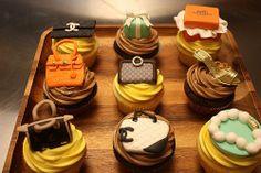fashionable cupcakes