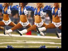 Dallas Cowboys Cheerleaders - YouTube