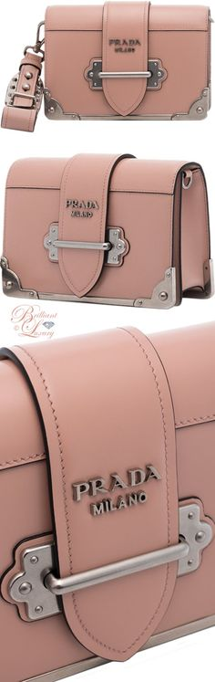 Brilliant Luxury ♦ Prada Cahier Mini shoulder bag