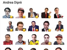 A sticker pack about Andrea Diprè, an italian art critic. Telegram Stickers, Italian Art, Critic, Packing, Movie Posters, Movies, Bag Packaging, Films, Film Poster