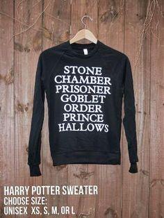 harry potter sweater :)