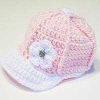 Crochet Baseball Cap - via @Craftsy