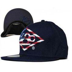 "10 Deep ""Brass Knuckle American Flag"" Snapback Hat (Navy) #10deep #fashion #streetwear #streetfashion #style #urbanwear"