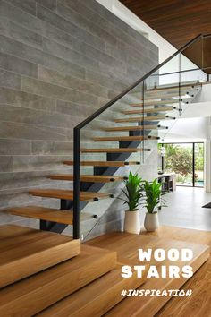 decorate stairs, stairs decor, entryways design, f Stair Walls, Wood Stairs, House Stairs, Home Stairs Design, Modern House Design, Home Interior Design, Stair Landing Decor, Stair Decor, Stairs In Kitchen