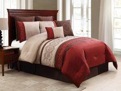 Morocco 8 Piece Queen Comforter Set