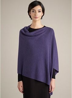 EILEEN FISHER  Poncho - deep sigh... I really want an EF poncho