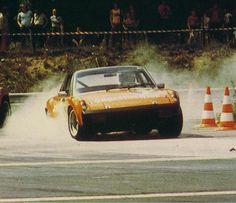 Porsche 914 in action #porsche #motorsport