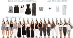 Your Summer Capsule Wardrobe With VacayStyle