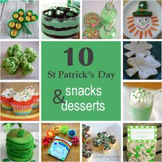 Fun St. Patrick's Day Food Ideas for Kids