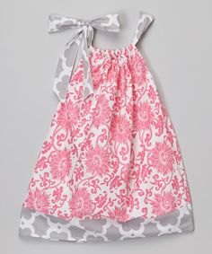 Another great find on #zulily! Pink A-Line Dress - Infant, Toddler & Girls #zulilyfinds