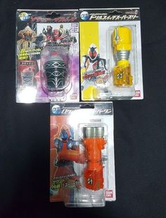 TV Movie and Character Toys 51031: New Dx Masked Kamen Rider Fourze S1 S-1 S3 S-3 Zodiarts Switch Set -> BUY IT NOW ONLY: $50 on eBay!
