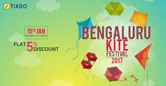 Bengaluru Kite Festival is an annual event to promote the traditional sport of Kite flying on the occasion of Sankranthi / Pongal / Makar Sankranthi / Lohari. This is an all day event full of fun, live music, food stalls and of course Kite Flying. This festival is a good outing for the family, friends, and colleagues.   #Kitefestival #2017 #Bengaluru