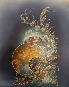 arzusenocak Talebelerimizden ARZU ENOCAK n F sergisinde yer alan HABBE al mas Klasik Osmanl D nemi Bitkisel k kenli Kinds Of Salad, 16th Century, Islamic Art, Mandala, Abstract, Instagram, Pretty, Painting, Anniversary Decorations