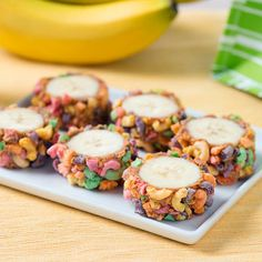 Peanut Butter and Banana sushi is the perfect addition to a bento box lunch.