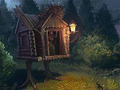 Baba Yaga's Home