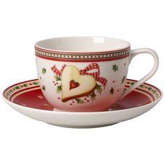 Winter Bakery Delight Kaffeetasse m.Unt.2tl-neu Kaffeetasse mit Untertasse 2tlg.