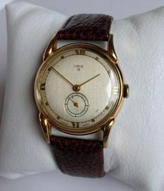 Outstanding 1940s Oris Art Deco style vintage Swiss by AboutTimeNI, £195.00