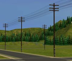 TrulyKristan Sims So Criquette just shared these lovely Telegraph Poles with me not available on his MTS download page.