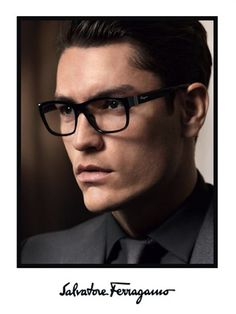 60cdf91abb Tyson Ballou Appears in Salvatore Ferragamo Fall Winter 2013 Eyewear  Campaign - The Fashionisto Men