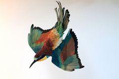 Vida natural de hermosas aves de papel | Alternopolis