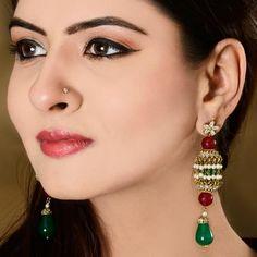 Jhumka Earrings in Gold Plating