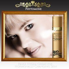 BEAUTY ADS-REFRESHINGLY HONEST: Menopause Face Cream