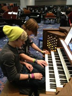 They can play the organ too?!?! Musical geniuses  every one of them!