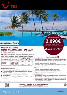 Especial Novios.Oferta Maldivas- Hotel Anantara Veli -Lujo. 13Abr al 12Oct.Precio final desde 2.098€ ultimo minuto - http://zocotours.com/especial-novios-oferta-maldivas-hotel-anantara-veli-lujo-13abr-al-12oct-precio-final-desde-2-098e-ultimo-minuto-2/