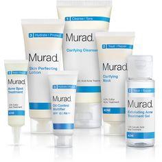 Murad Acne Complex 30-Day Kit #SkincareIQ #Sephora #skincare