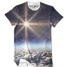 Mens Space Clouds Tee