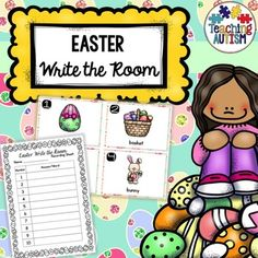 This Easter themed write the room activity is a great way to have students moving around the room, hunting for the different cards, reading them and then writing down the answers onto recording sheets. The recording sheets come in 2 different options of numbers 1-10 and 1-20 as well as in 2 different ability levels - plain boxes to write the answers in or