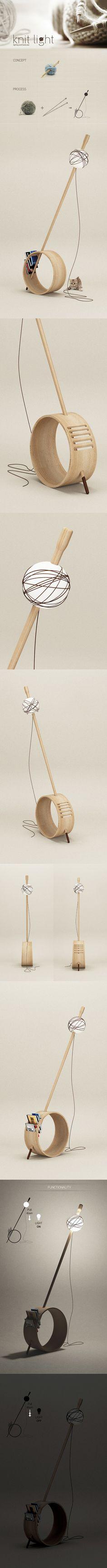 The Knit-Light !! https://www.behance.net/gallery/14154129/KNIT-Light