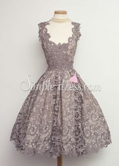 Buy Simple-dress Hot-selling A-line Short Lace 2015 Homecoming Dresses/Party Dresses LAHD-70826 Special Occasion Dresses under $139.99 only in SimpleDress.