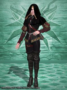 The Witcher 3 - Anna Henrietta (Riding Outfit) by MoogleOutFitters.deviantart.com on @DeviantArt