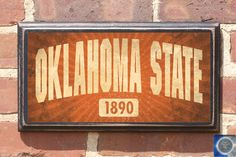 Oklahoma State Cowboys University Established Date  by CrestField