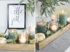 Herbstdeko im Glas Diy Fall Crafts diy mason jar crafts for fall